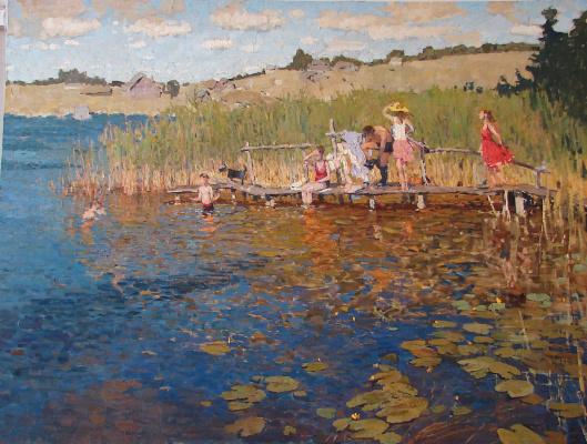 Василий Васильевич Куракса. Bathing