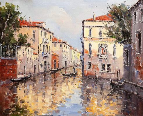 Andrey Sharabarin. Dreams of Venice N31