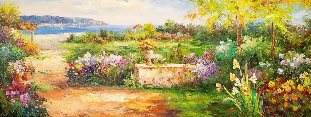 Christina Viver. Mediterranean landscape