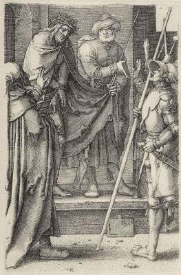 Lucas van Leiden (Luke of Leiden). Behold the man