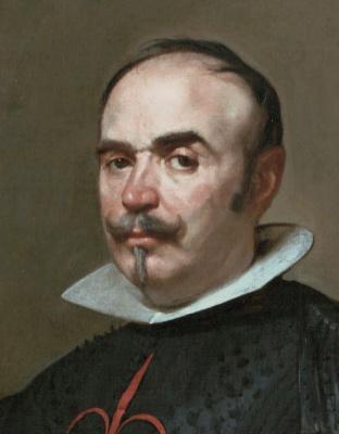 Diego Velazquez. Portrait of Pedro de Berberana-and-Arregui (fragment)