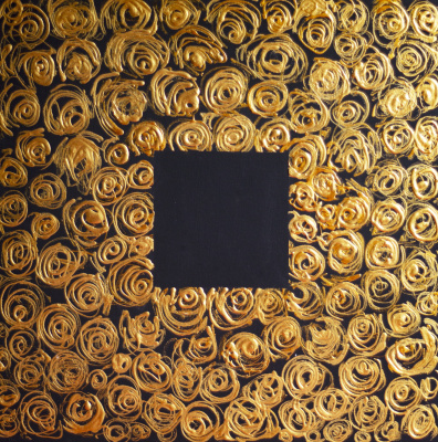 Лариса Сиверина. Gold roses