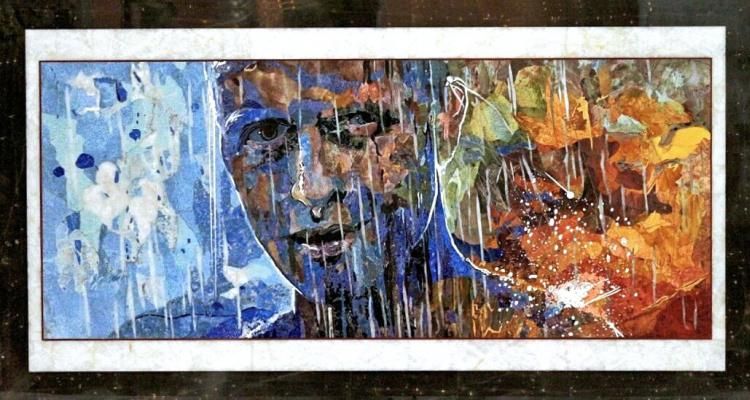 Love Dmitrievna Cheban. Running in the rain