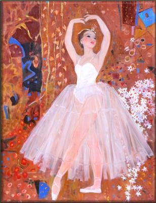 Mikhail Mikhailovich Gerasimov. Ballerina