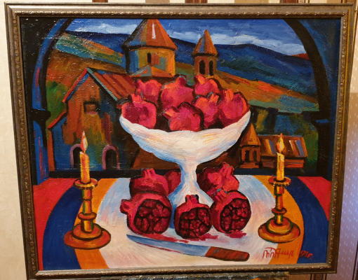 Robert Patwakanovich Gyulazyan. Pomegranate color