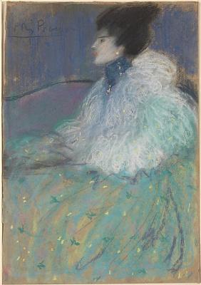 Пабло Пикассо. Женщина в зеленом