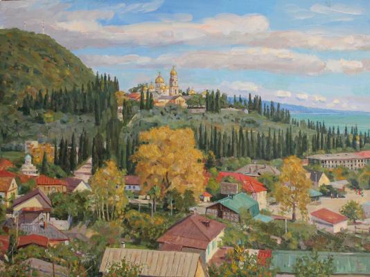 Eugene Alexandrovich Kazantsev. New Athos. Abkhazia.