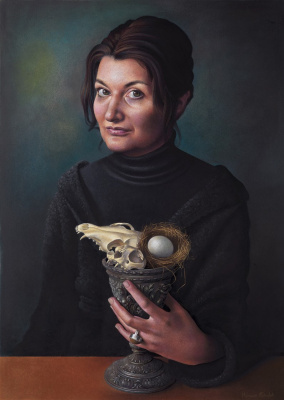 Miriam Eskofet. Vanitas - Self Portrait