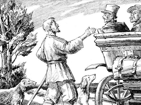 Alexander Vasilievich Kuzmin. Pole and Kalynich. I.S. Turgenev.
