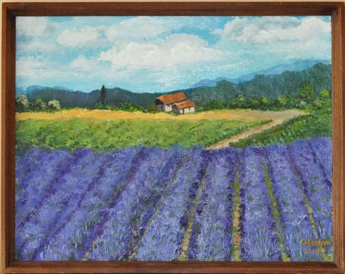 Ольга Владимировна Лозовая. Lavender field (Лавандовое поле)