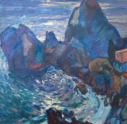 Petr Kuzmich Stolyarenko. Bay of Chekhov in Gurzuf
