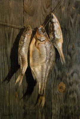 German Aleksandrovich Kulikov. Dried fish.