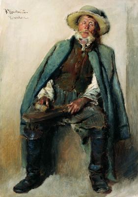 Константин Егорович Маковский. Слепой