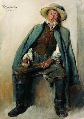Konstantin Makovsky. Blind