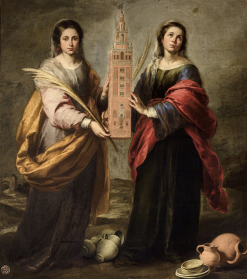 Bartolomé Esteban Murillo. Saints Justa and Rufina