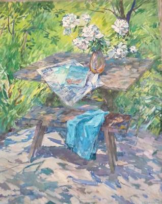Нина Степановна Драгомирова. Весенний сад