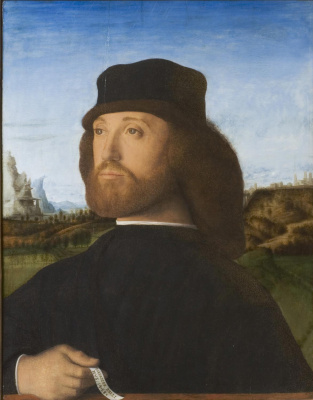Giovanni Bellini. Portrait of a Man