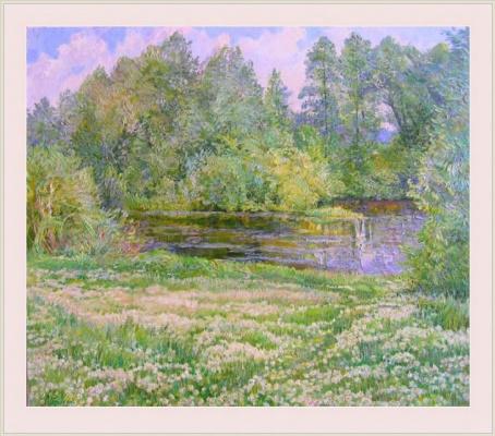 Александр Алексеевич Дубровский. Dandelion Painting by Oleksandr Dubrovskyy