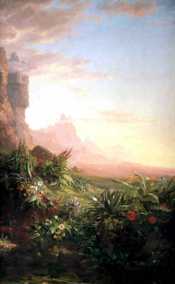 Thomas Cole. The voyage of life childhood