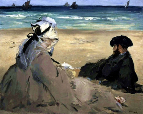 Edouard Manet. On the shore
