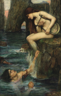 John William Waterhouse. Siren