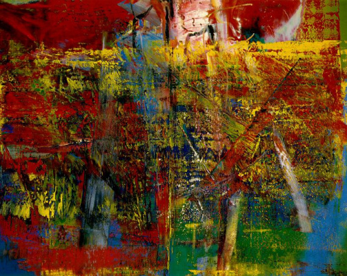 Gerhard Richter. Meditation