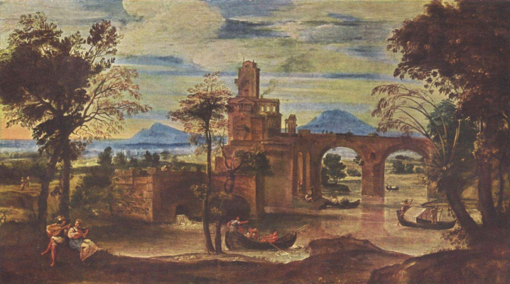 Annibale Carracci. Roman landscape