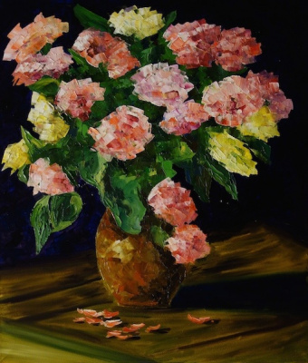 Larissa Lukaneva. A bouquet of roses