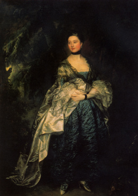 Thomas Gainsborough. Portrait of lady Alston