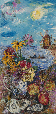 David Davidovich Burliuk. Landscape