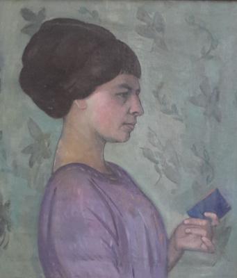 Robert Rafailovich Falk. Portrait Of Potekhina