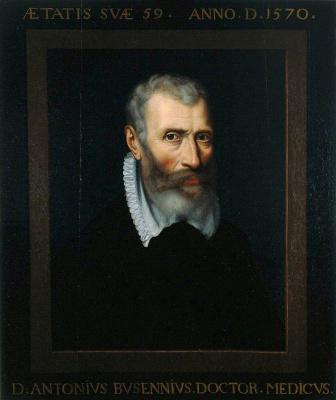 Адриан Томас Кей. Антониус Бузениус, профессор медицины