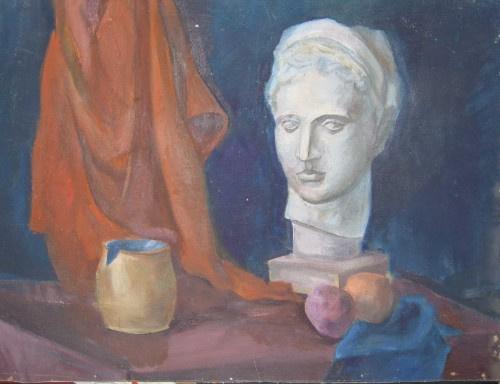Pavel Markovich Osherov. Still life with the head of Venus