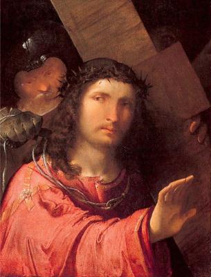 Алтобелло Мелон. Несение креста (фрагмент)