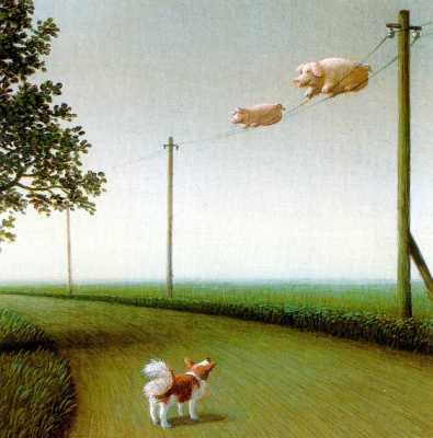 Michael Owl. The collection of migratory pigs