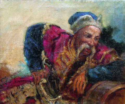 Илья Ефимович Репин. Казак (Атаман Серко)