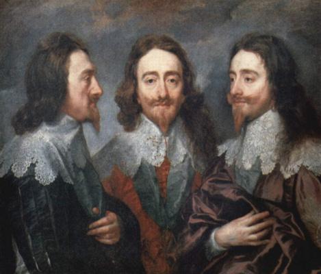 Антонис ван Дейк. Портрет Карла Первого, короля Англии