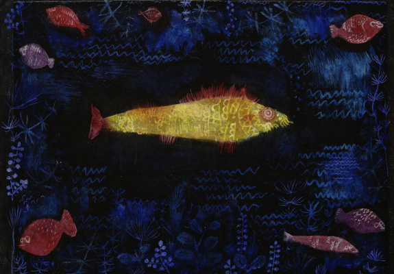 Paul Klee. Goldfish