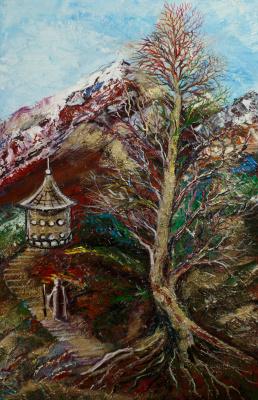"""Alla Struchayeva. The painting """"Farewell"""""""