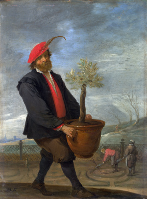 David Teniers the Younger. Spring