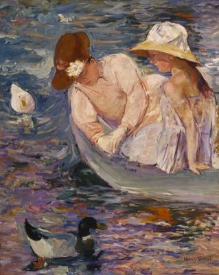 Mary Cassatt. Summer
