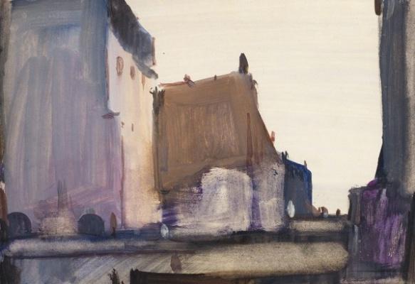 George Grigorievich Nyssa. Urban motive