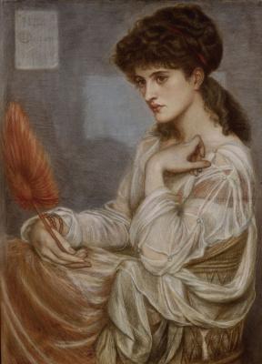 Данте Габриэль Россетти. Портрет Марии Терезы Замбако