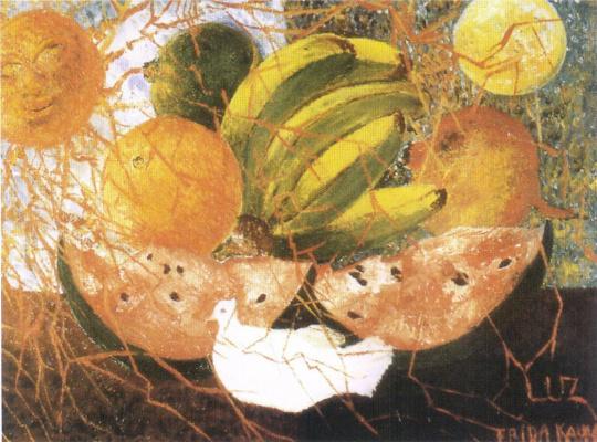 Frida Kahlo. Fruits of life