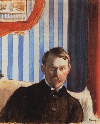 Boris Mikhailovich Kustodiev. Self-portrait