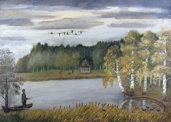 Alexander Vasilyevich Suvorov. Angler