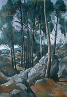 Andre Derain. Path in the rocks of Sausset-Les-Pins