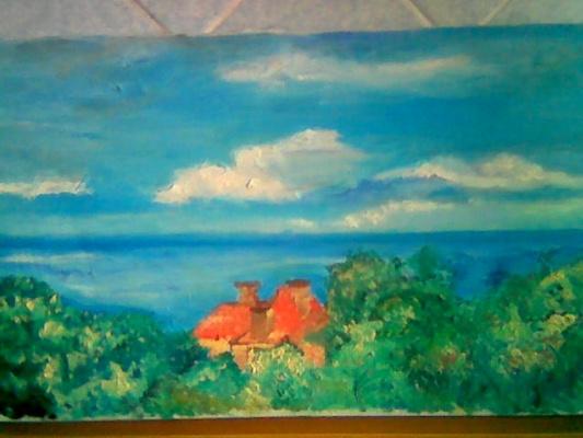 Алена Воронина. Домик у моря.