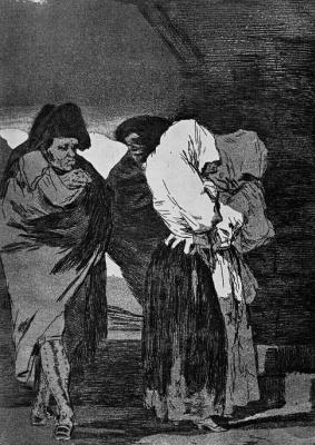 Francisco Goya. Twilight