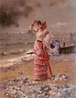 Ветер на берегу